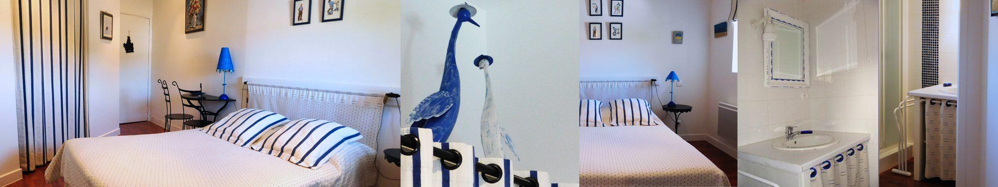 Chambres d'hôtes, La Digne-d'Amont – la chambre des «Oies»