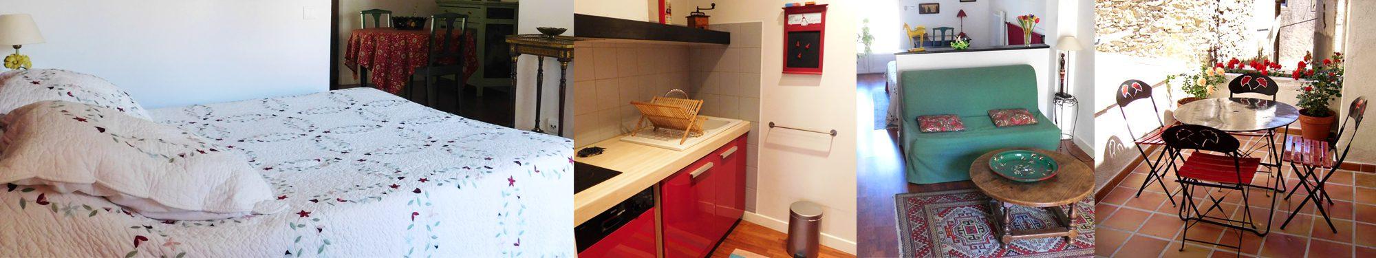 Le meublé «Chez Marguerite» – Chambres d'hôtes Hue le Vent, La Digne-d'Amont